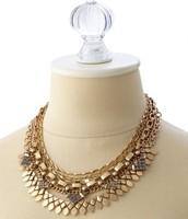 Sutton Necklace Gold, Reg $128, Now $64