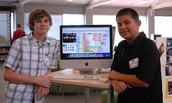 iMiddle Students showing off their Code at SDCUE