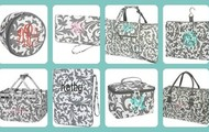Gray Floral Collection