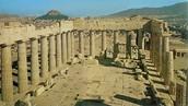 Inside of Parthenon