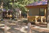 Cabins (outside)