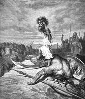 דוד לאחר הניצחון על גוליית