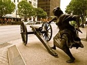 ANGELINA EBERLY TOUCHING THE CANNON