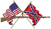 (North & South Flags.)