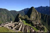 Many travel to visit the Machu Picchu