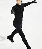 Johnny Weir training at Hackensack/Moscow, NJ/Russia