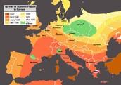 Map of Bubonic Plauge