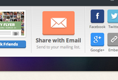 "2. Click ""Share with Email"""