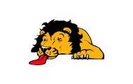 He killed the lion.