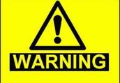 Warning Signs and Verbal Warning Signs