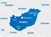 Hungary Major Cities