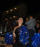 Preforming in the stands