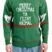 UGLY SWEATER PARTY!!