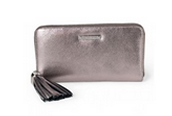 50% off - Mercer Wallet Pewter Metallic