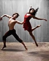 Yo empece a clase de bailar