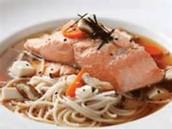 Salmon Mushimono