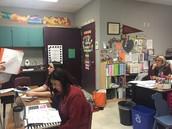 5th grade & leadership team