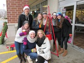 Bell Ringing for Love Inc. ($2000 in a day)