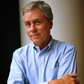 "Carl Hiaasen, author of ""Hoot"""
