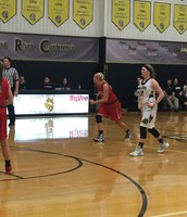 Hayley Rash reacts to a shot versus Trenton on 2/2