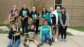 8th Grade Band students