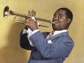 Playing his Trumpet