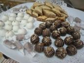 Homemade Cake balls, Baklava and much more!