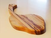 帶骨牛排型樟木板 LBS018