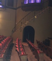 theater stairs