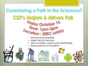 CST Majors & Minors Fair