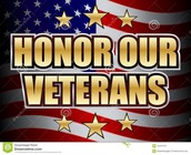 Everyone can take a moment to honor a Veteran for fighting for us and our country
