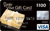 A Hundred Dollar Visa Gift Card!
