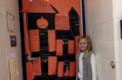 Kennedy and the winning door!
