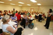 Lots of Sessions...Lots of Teachers!