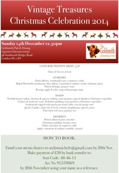 Team Christmas Lunch, London Sunday 14th December - BOOK NOW!