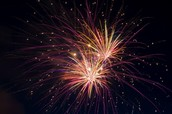 Magnesium is in fireworks