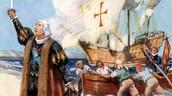 Columbus Leading His Ship