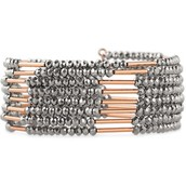 Sparkly Bardot spiral bracelet