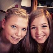 Mi amiga Jocelyn y yo