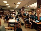 Students hard at work.
