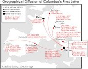 The Diffusion of Columbus's Letter through Europe, 1493-1497