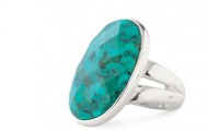Odyssey Ring (Turquoise or Labrodite)