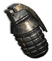How does the Fragmentation Grenade work?
