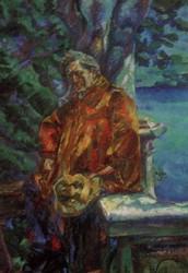 Retrato del músico Busoni