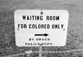Colored Only Waiting Room