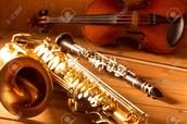 Alto Saxophone, Clarinet, & Violin