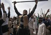 Rioting in Pakistan