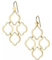 Arabesque Chandelier Earrings $39