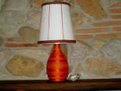 Lampada in cotone!!!!