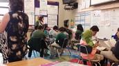 ILT Observes Ms. Guy's Reading Groups